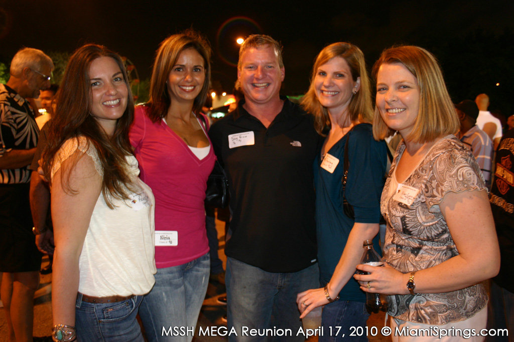 Melanie Mann, Niria Llanos, Doug Prince, Joy Cavalaris, and Allison Cunningham