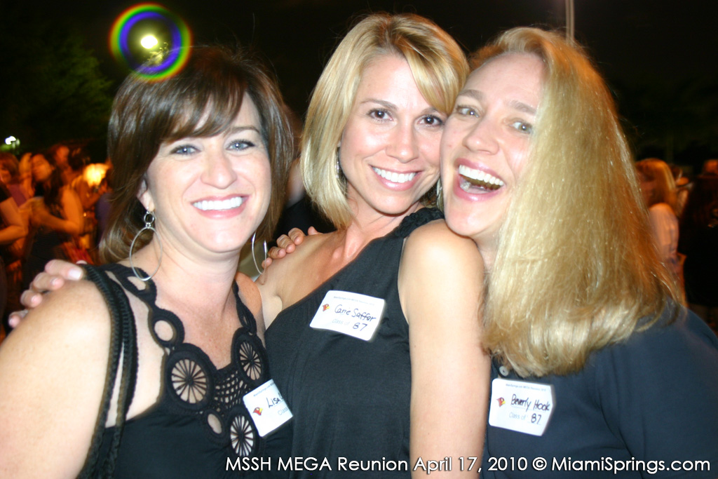 Lisa Cimino, Carrie Saffer, and Beverly Hook