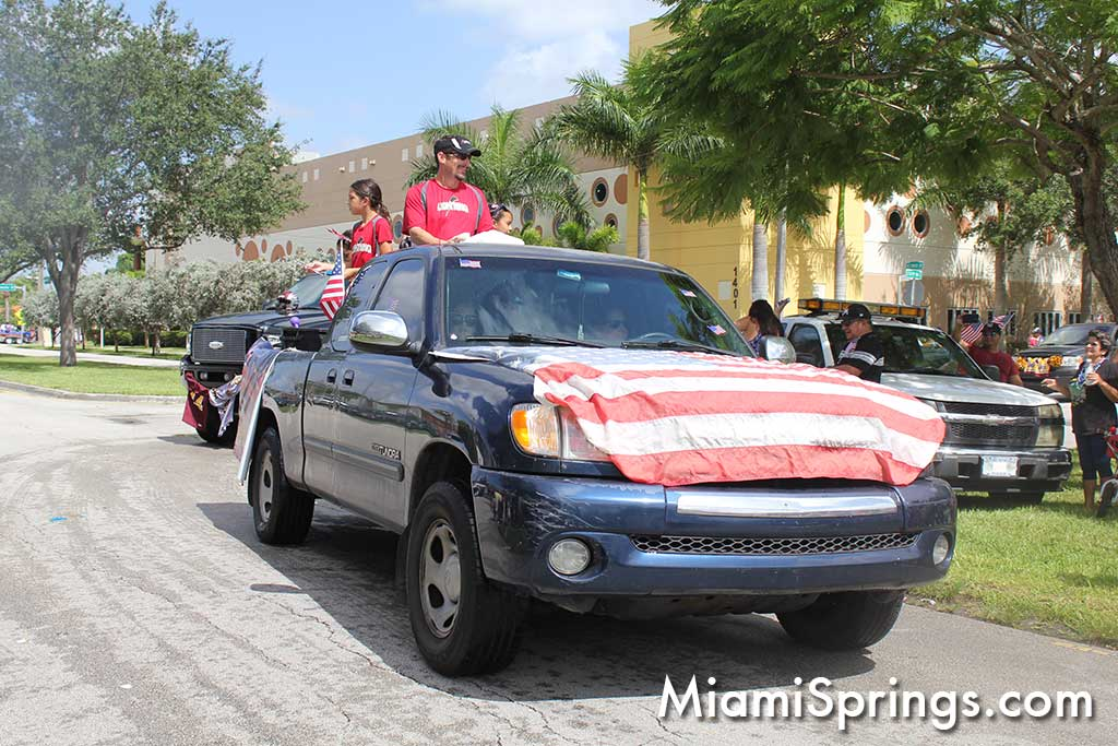2015 Miami Springs July 4th Parade