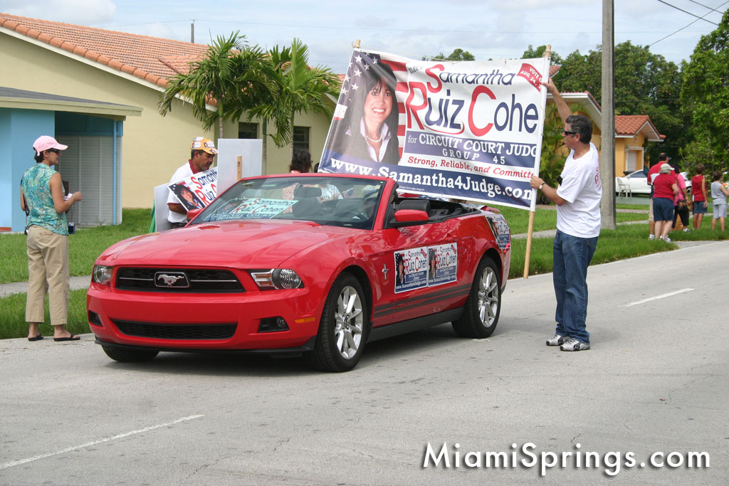 2010 Miami Springs Independence Day Parade