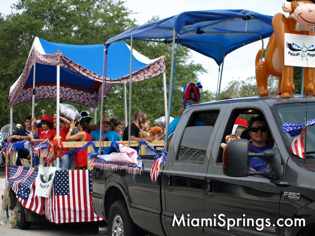 Miami Springs July 4th Parade