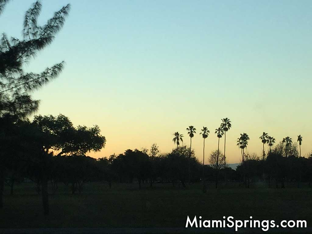 Dawn of a new day in Miami Springs