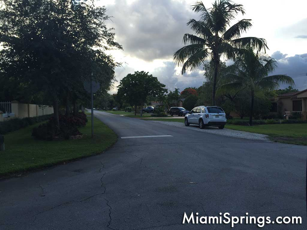 Miami Springs street view