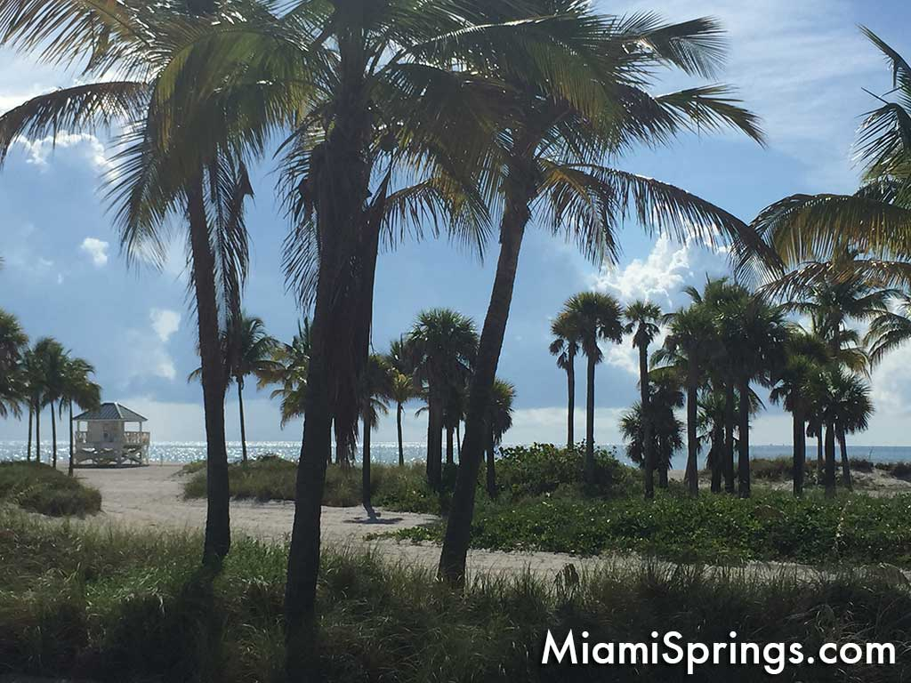 Miami Springs is just 15 minutes from the best beaches in the country