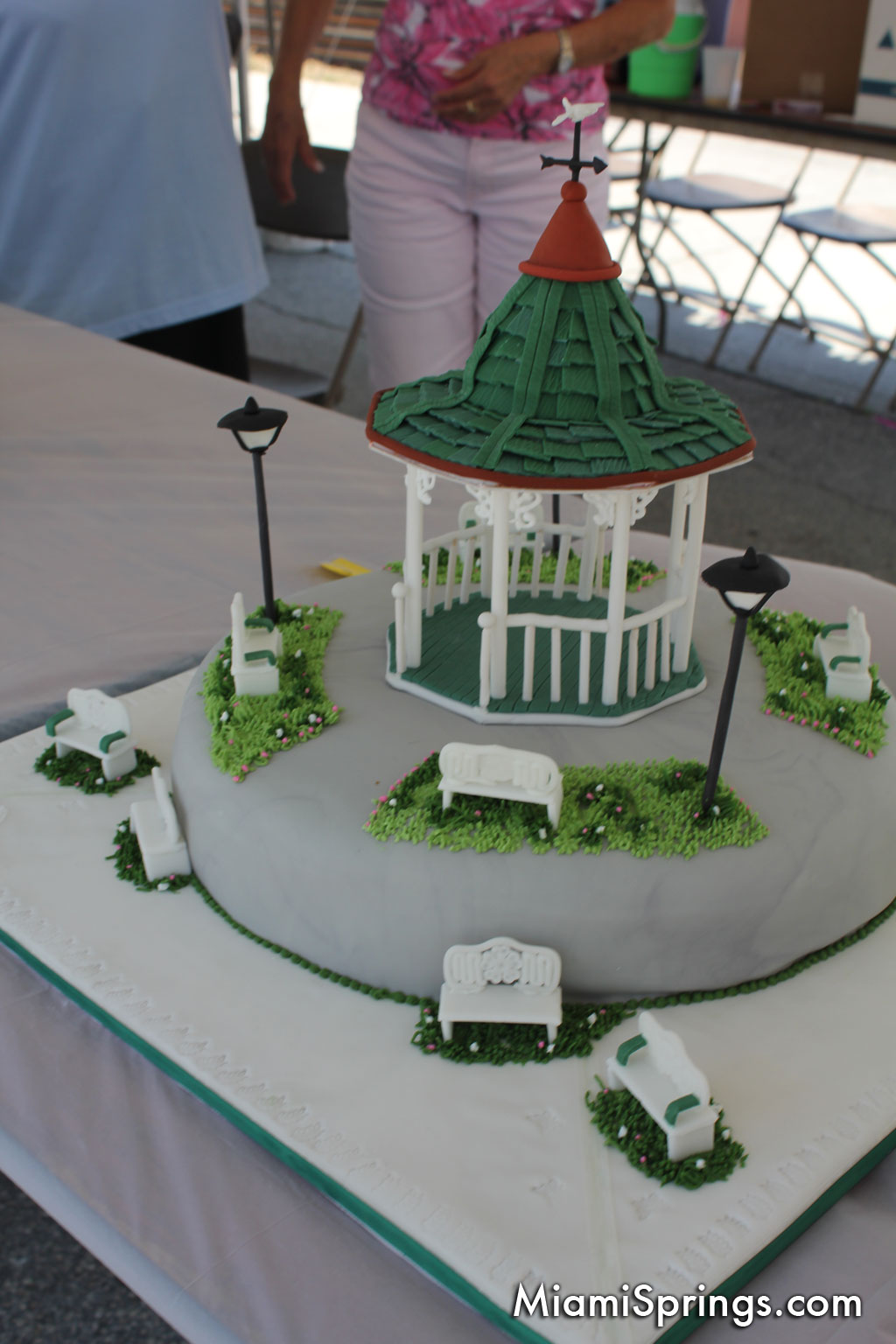 Custom Gazeebo Cake