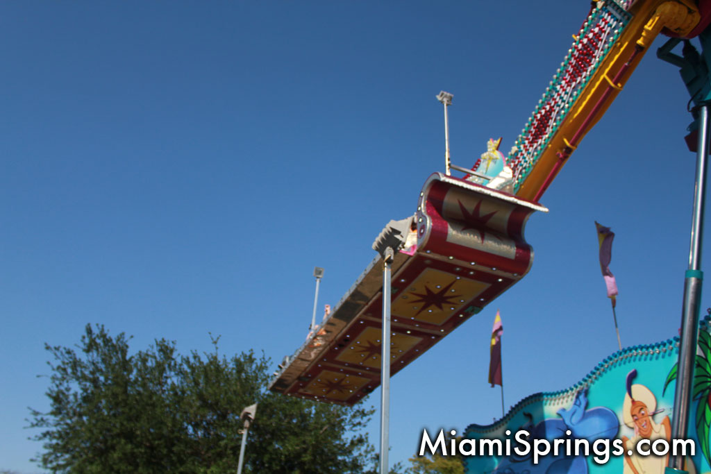 Soaring Sky High Over Miami Springs