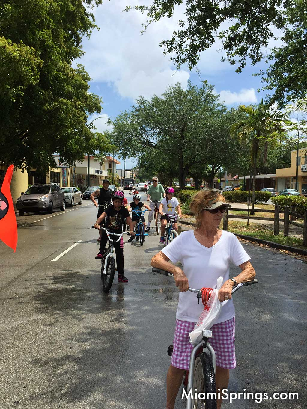 2015 River Cities Festival Bike Ride in Miami Springs