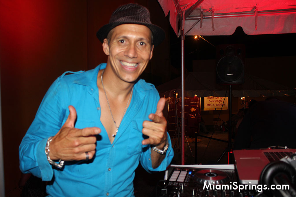 Jorge aka DJ WiWi at the 2015 MSSH MEGA Reunion