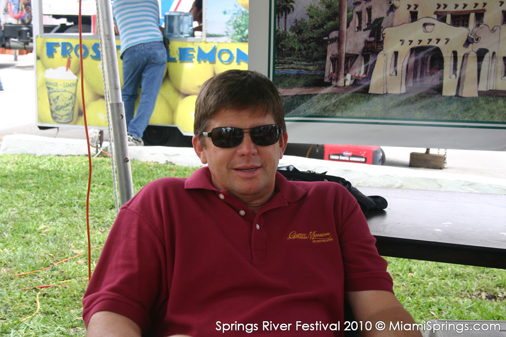 Former Mayor Richard Wheeler at the Springs River Festival
